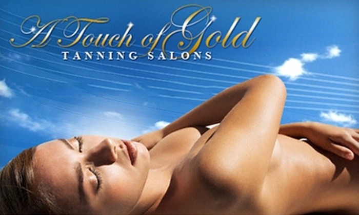 A Touch of Gold Tanning Salon - Studio City: $40 for One Month of Unlimited Tanning ($100 Value) or $25 for One Custom Airbrush Session ($55 Value) at A Touch of Gold Tanning Salon in Studio City