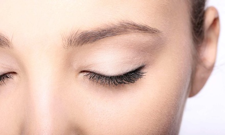 Eyelash Extensions with Optional Touch-Up at           Classic Threading Salon (Up to 55% Off)
