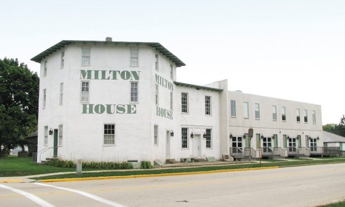 The Milton House - Indian Heights: One-Hour Underground Railroad Station Tour for Two, Four, or Six at Milton House Museum (50% Off)