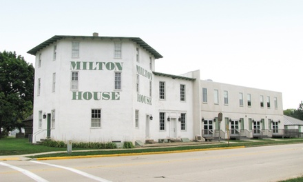One-Hour Underground Railroad Station Tour for Two, Four, or Six at Milton House Museum (50% Off)