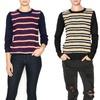Women's Textured-Front Sweater