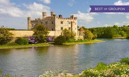 Leeds Castle, Cliffs of Dover and Canterbury Tour with Thames Cruise for Child or Adult (52% Off)