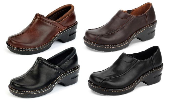 Eastland Leather Slip On Shoes Groupon Goods