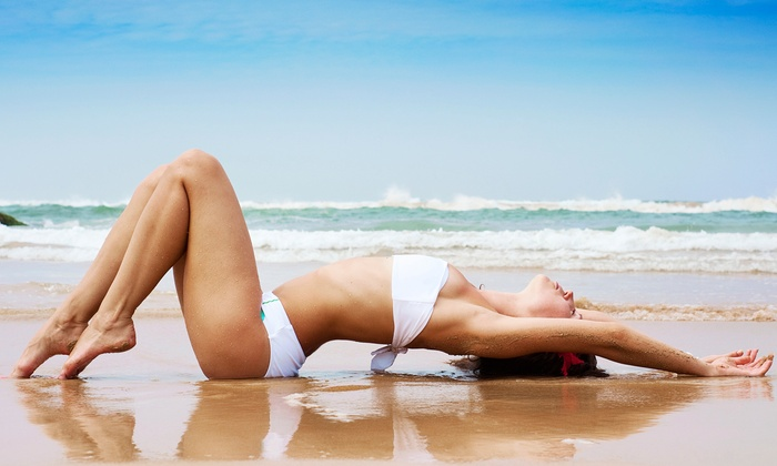 Image Sun - Oakland Township: One, Three, or Five Airbrush Spray-Tanning Sessions at Image Sun (Up to 58% Off)