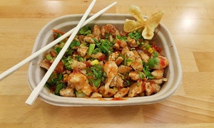 FusaBowl: $12 for Three Groupons, Each Good for $7 Worth of Casual Asian Fusion Food at FusaBowl ($21 Total Value)
