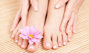 Bobby Beauty Salon Nails & Spa: No-Chip Manicure and Pedicure Package from Bobby Beauty Salon Nails & Spa (50% Off)