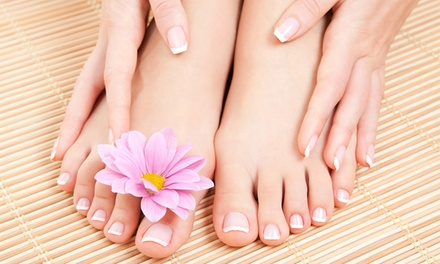 No-Chip Manicure and Pedicure Package from Bobby Beauty Salon Nails & Spa (50% Off)