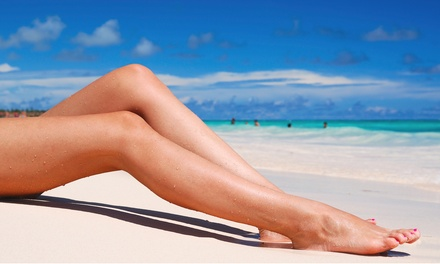 2 or 5 Laser Spider Vein-Reduction Treatments for One or Both Legs at Jasmine Laser Hair Removal (Up to 83% Off)