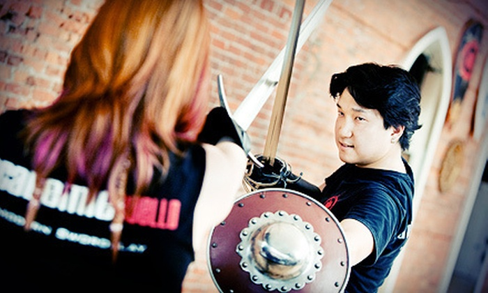 Academie Duello - Downtown Vancouver: Eight-Class European Swordplay Program at Academie Duello (Half Off). Two Options Available.