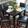 Love Pub Table and Chairs Dining Set