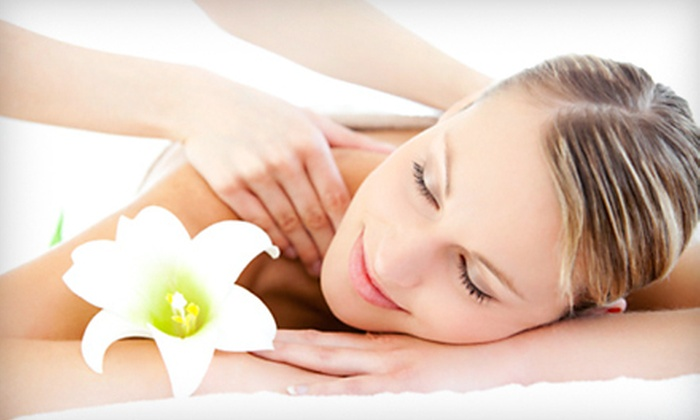 Valencia Salon & Spa - Bixby: One or Three 60-Minute Massages or One 15-Minute Chair Massage at Valencia Salon & Spa (Up to 60% Off)