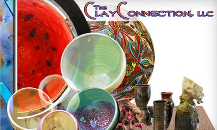 Clay Connection - East Central: $15 for a Pottery Workshop at Clay Connection ($30 Value)
