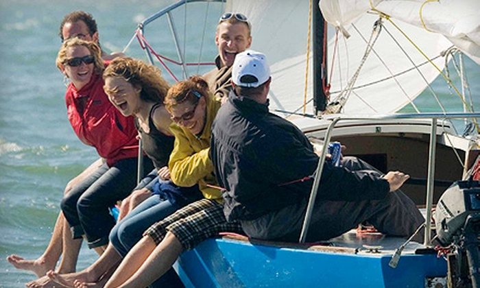 Spinnaker Sailing - The Embarcadero: $240 for Two-Hour Intro to Sailing Lesson for Four People at Spinnaker Sailing ($480 Value)