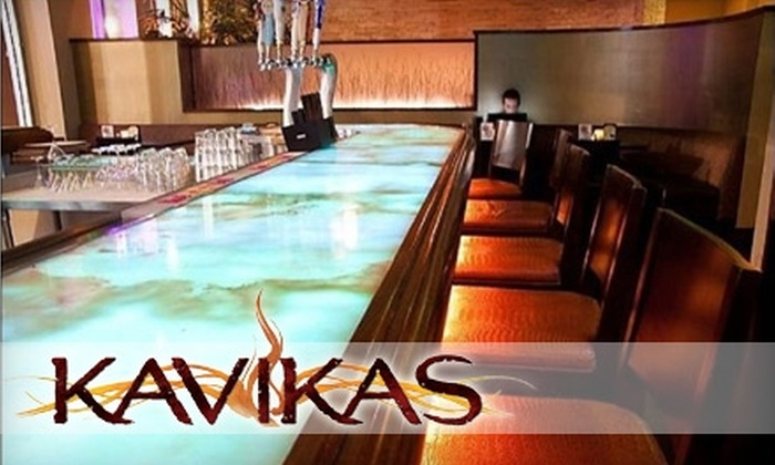 Kavikas Grill & Bar - Downtown Long Beach: $10 for $20 Worth of Globally Influenced American Fare and Drinks at Kavikas Grill & Bar in Long Beach