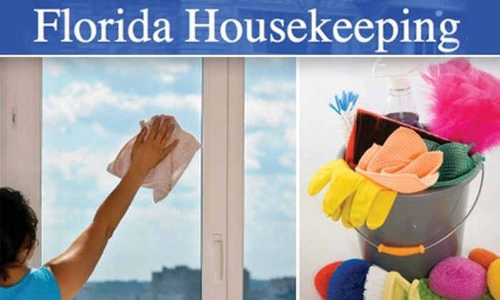 Florida Housekeeping - Tampa Bay Area: $30 for Up to 2.5 Hours of House-Cleaning Services from Florida Housekeeping ($62 Value)