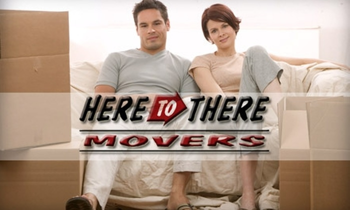 Here To There Movers - Indianapolis: $40 for an Hour of Moving Help from Here to There Movers (Up To an $85 Value)