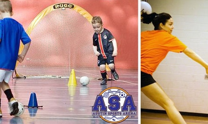 Austin Sports Arena - Taylor: $64 for Children's or Adults' Sports at the Austin Sports Arena (Up to $129 Value)
