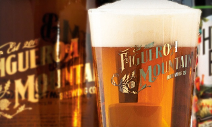 Figueroa Mountain Brewing Co. - Buellton: Brewery Tour Package with Beer Tasting for Two or Four at Figueroa Mountain Brewing Co. in Buellton (Up to 53% Off)