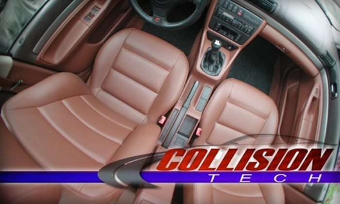 Collision Tech OKC - Northwest Oklahoma City: $49 for a Full Detailing Service at Collision Tech OKC ($99 Value)
