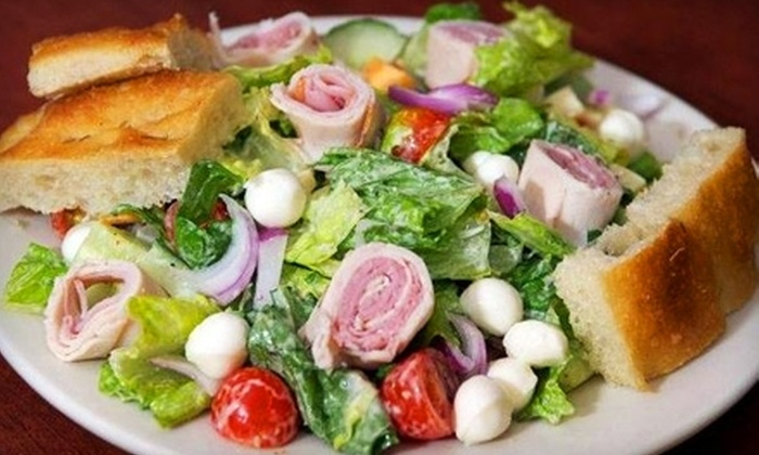 Gizzi's Cafe - Downtown,Greenwich Village,Lower Manhattan,NoHo,Soho,Union Square,West Village: $4 for $8 Worth of Café Fare and Drinks at Gizzi's