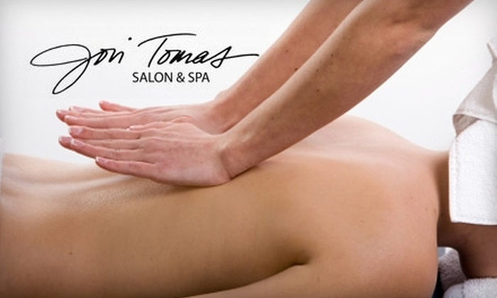 Jon Tomas Salon and Spa - Saint Louis: $30 for a 60-Minute Massage at Jon Tomas Salon and Spa ($65 Value)