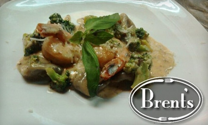 Brent's - Downtown: $35 for $70 Worth of Dinner Fare or $10 for $25 Worth of Upscale Lunch or Brunch Fare at Brent's