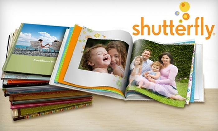 "Shutterfly: $10 for a 20-Page 8""x8"" Hardcover Photo Book from Shutterfly"