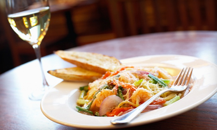 Giorgio's Wine Bar - Upper East Side: $39 for Italian Dinner with Appetizers, Entrees, and Bottle of Wine for Two at Giorgio's Wine Bar (Up to $116.80 Value)