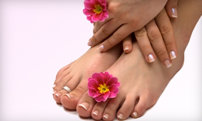 New Image Hair Cutters - Glenside: $25 for a Shellac Mani-Pedi at New Image Hair Cutters in Muskegon