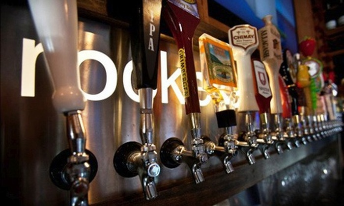 The Rockefeller - Hermosa Beach: Beer Flights and Appetizers for Two or Four at The Rockefeller