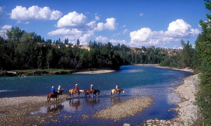 Three Bars Ranch - Ta Ta Creek: Two-Night Stay for One or Two with Daily Breakfast at Three Bars Ranch in Cranbrook, BC