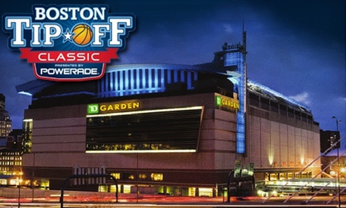 Boston Tip-Off Classic - Downtown: $15 for a Ticket to the Boston Tip-Off Classic on Saturday, December 4 ($42.45 Value)