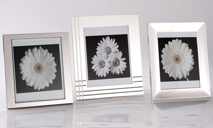 """Mikasa or Towle 8""""x10"""" Frame: Mikasa or Towle 8""""x10"""" Silver-Plated Frame. Multiple Styles Available. Free Shipping."""
