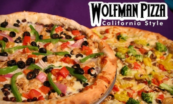 Wolfman Pizza - Multiple Locations: 15 for $30 of California-Style Pizza and More at Wolfman Pizza