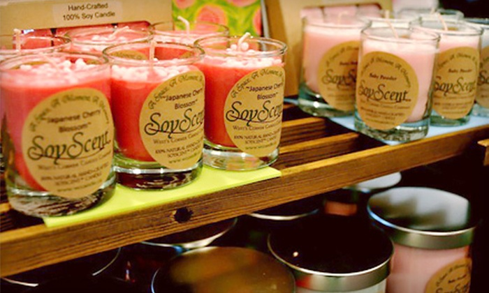 West's Corner Candle Company: $15 for $30 Worth of Soy Candles from West's Corner Candle Company