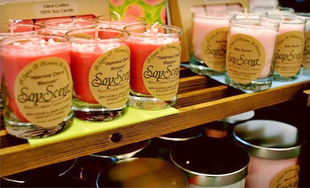 $30 Groupon to West's Corner Candle Company - West's Corner Candle Company in
