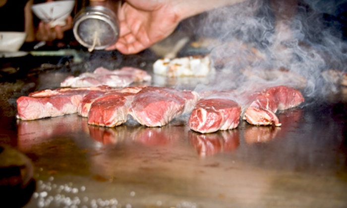 Fuji Steak House - Needham: $15 for $30 Worth of Hibachi Dinner Fare and Sushi for Two at Fuji Steak House in Needham