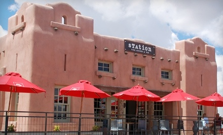 $10 Groupon to Station Fine Coffee and Tea - Station Fine Coffee and Tea in Santa Fe