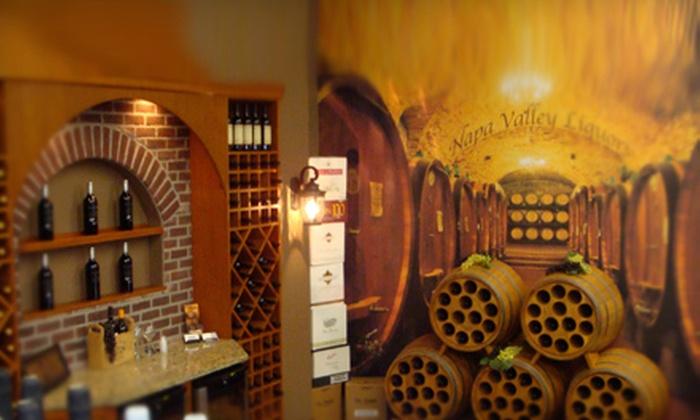 Napa Valley Liquors - Otsego: $10 for $20 Worth of Wine and Liquor at Napa Valley Liquors in Otsego