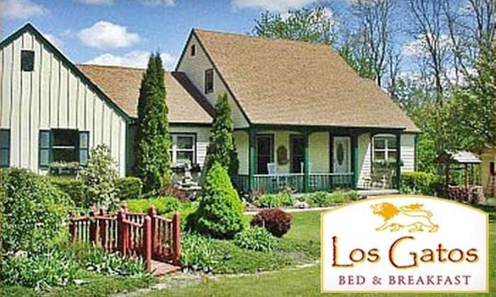 Los Gatos Bed & Breakfast - Penn Yan: $79 for a One-Night Stay at Los Gatos Bed & Breakfast (Up to $179 Value)