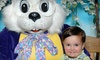 WorldWide Photography - Multiple Locations: $18 for Photos with the Easter Bunny and Print Package from WorldWide Photography