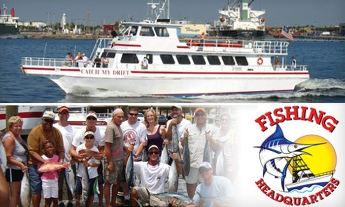 "Fishing Headquarters - Central Beach: $15 for a Four-Hour ""Reef Drift Fishing"" Trip with Fishing Headquarters ($30 Value)"