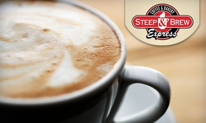 Steep and Brew Express Cafe - Reindahl Park: $10 for a Five-Drink Punch Card