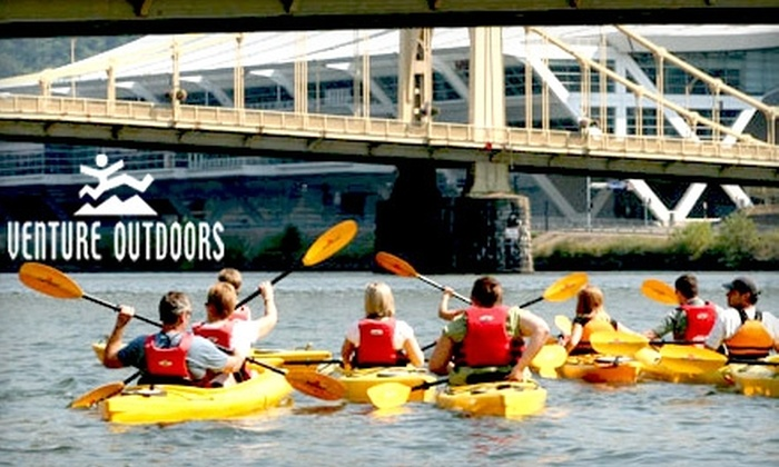Venture Outdoors: Membership Package to Venture Outdoors. Choose Between Two Options.