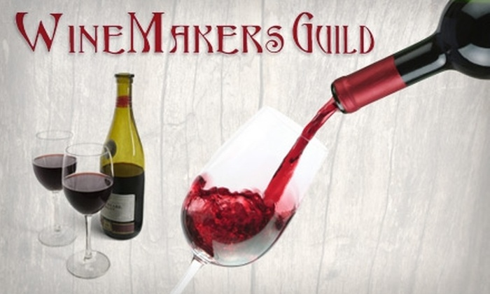 "WineMakers Guild - Dublin: $50 for a ""Wine on Premise"" Winemaking Experience at WineMakers Guild ($100 Value)"