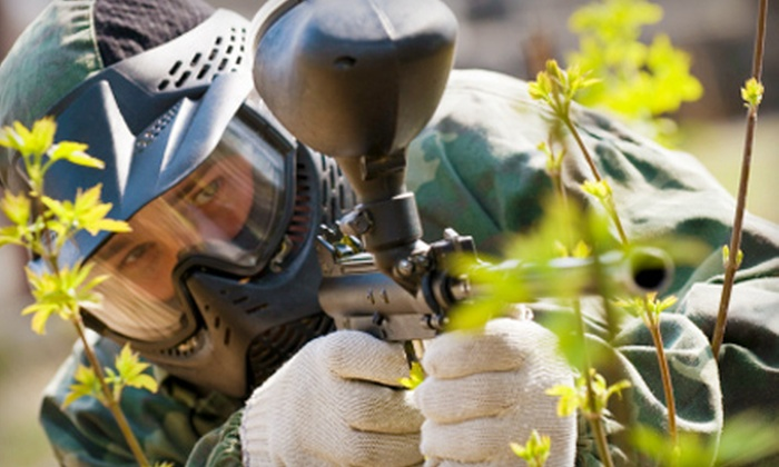 Unlimited Canmore Adventures - Morley: 10 Games of Paintball or Season Pass to Unlimited Canmore Adventures in Morley