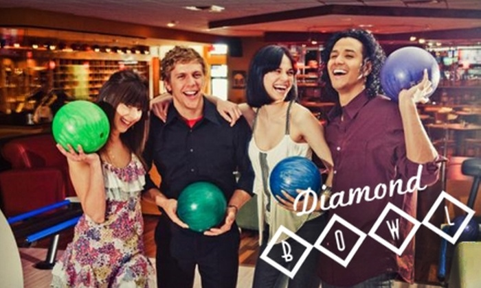 Diamond Bowl - Independence: $10 for $20 Worth of Bowling, Burgers, and Drinks at Diamond Bowl in Independence