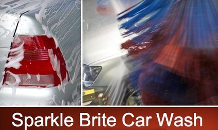 Sparkle Brite Car Wash - Multiple Locations: $10 for One Deluxe Car Wash from Sparkle Brite Car Wash