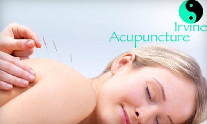 Irvine Acupuncture - Irvine Business Complex: $39 for Acupuncture or Acupressure Treatment plus Consultation at Irvine Acupuncture (Up to $300 Value)