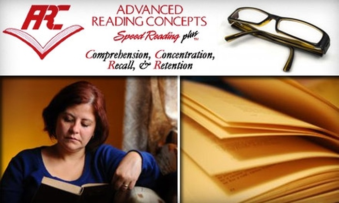 Advanced Reading Concepts - Columbus: $5 for an Introduction to Speed Reading Seminar at Advanced Reading Concepts
